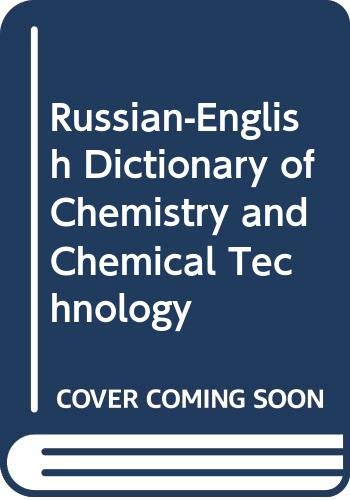 9780278920934: Russian-English Dictionary of Chemistry and Chemical Technology