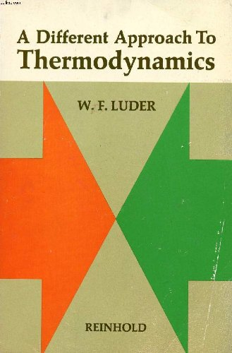 9780278921177: Different Approach to Thermodynamics