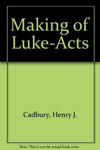 9780281007363: Making of Luke-Acts