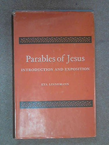 9780281008575: Parables of Jesus: Introduction and Exposition