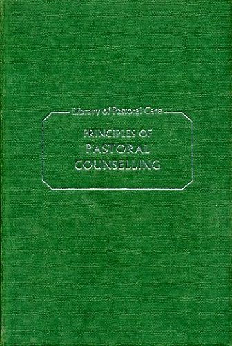 9780281022434: Principles of Pastoral Counselling (Library of Pastoral Care)