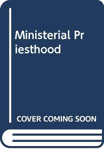 9780281022700: Ministerial Priesthood