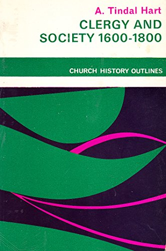 9780281022762: Clergy and Society, 1600-1800 (Church Historical Society)