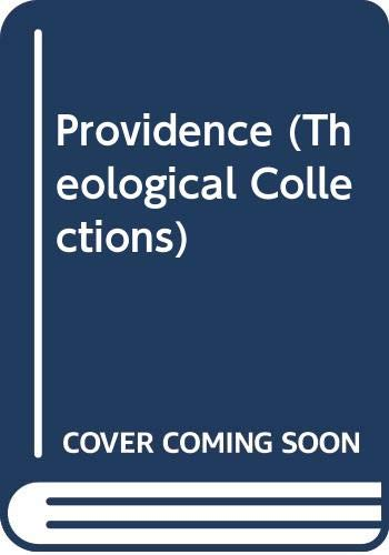 9780281023400: Providence (Theological Collections)