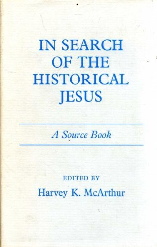 9780281024841: In Search of the Historical Jesus