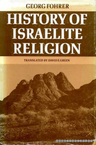 9780281027378: History of Israelite Religion
