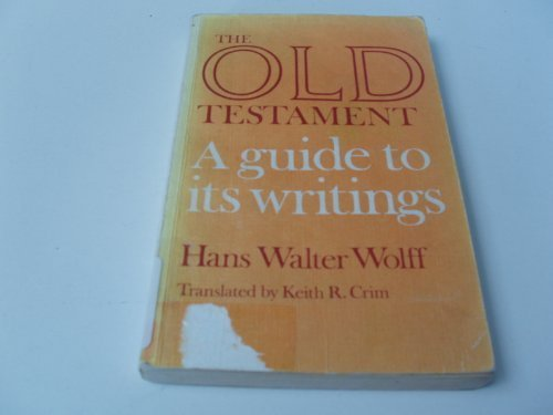 9780281027804: Old Testament: A Guide to Its Writings
