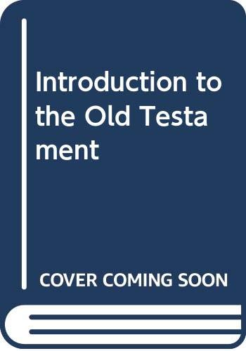 9780281029617: Introduction to the Old Testament