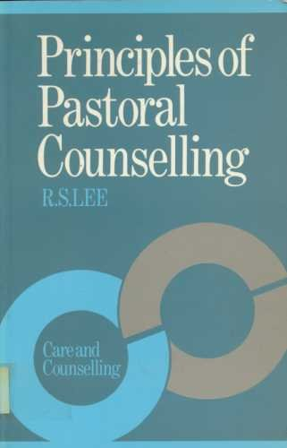 9780281035656: Principles of Pastoral Counselling