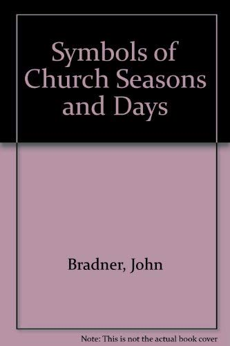 9780281036813: Symbols of Church Seasons and Days