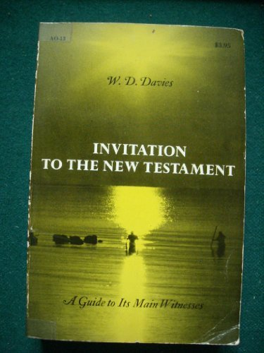 9780281036882: Invitation to the New Testament: A Guide to Its Main Witnesses