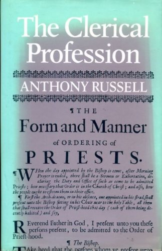 9780281037216: Clerical Profession