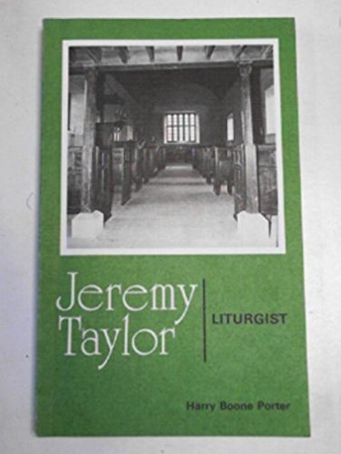9780281037360: Jeremy Taylor: Liturgist (Alcuin Club Collection)