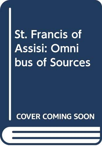 9780281037469: St. Francis of Assisi: Omnibus of Sources