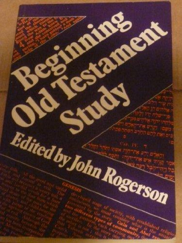 9780281038404: Beginning Old Testament Study
