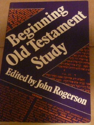 9780281038404: Beginning Old Testament Study