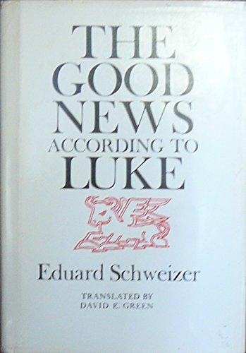 9780281041237: Good News According to Luke
