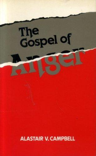 9780281042210: The gospel of anger