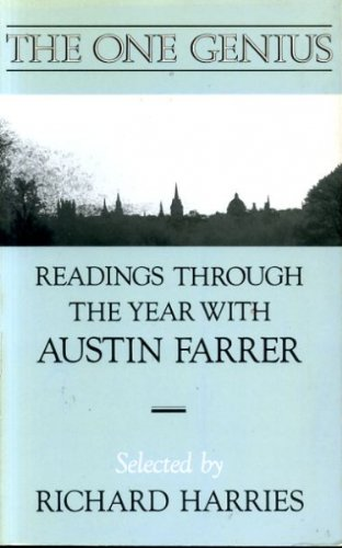 9780281042692: The One Genius: Readings Through the Year with Austin Farrer