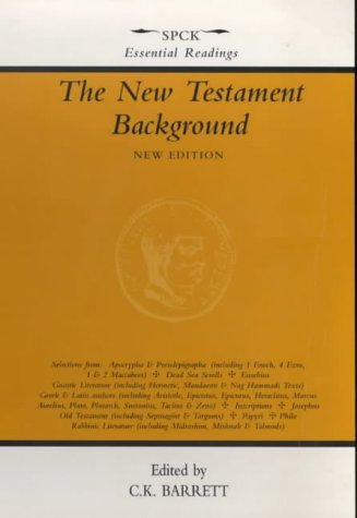 9780281042944: The New Testament Background: Selected Documents