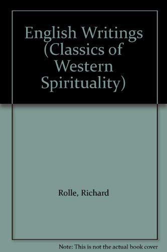9780281044016: English Writings (Classics of Western Spirituality)