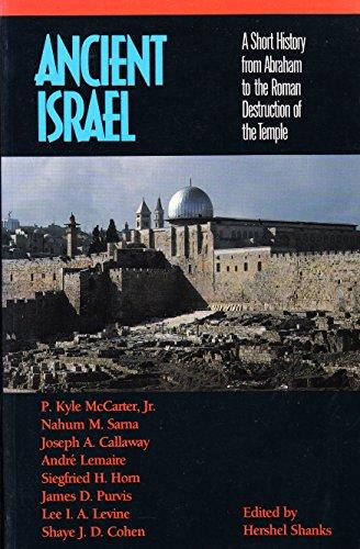 9780281044047: Ancient Israel