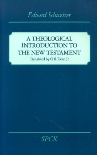 9780281046027: A Theological Introduction to the New Testament