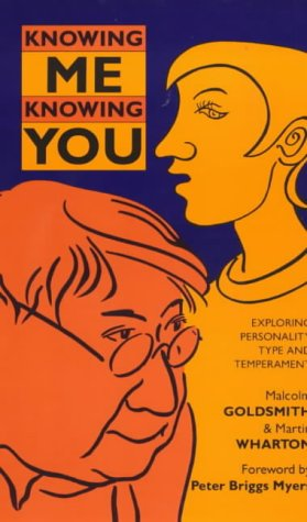 9780281046522: Knowing Me-Knowing You: Exploring Personality Type and Temperament