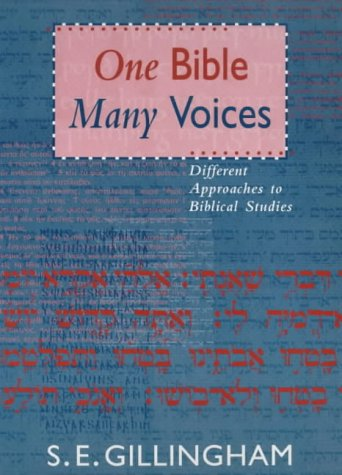 9780281048861: One Bible, Many Voices - Different Approaches to Biblical Studies