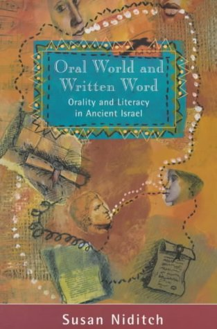 9780281050598: Oral World and Written Word (Library of Ancient Israel)