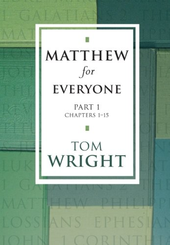9780281053018: Matthew for Everyone, Part 1