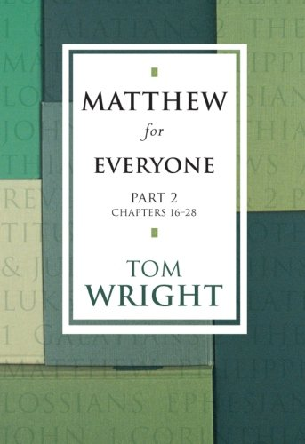 9780281054879: Matthew for Everyone, Part 2
