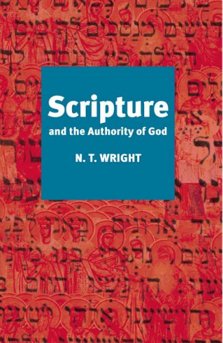 9780281057221: Scripture and the Authority of God
