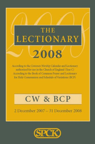 9780281059300: Common Worship Lectionary 2008