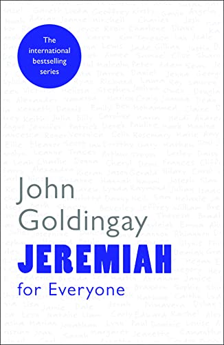 9780281061389: Jeremiah for Everyone (For Everyone Series: Old Testament)