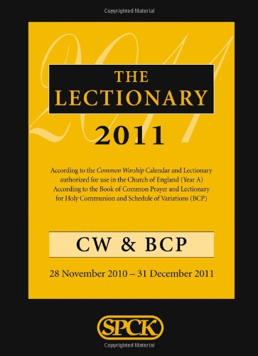 9780281063406: The Lectionary 2011