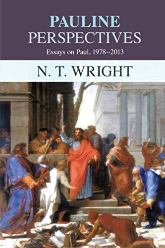 9780281063666: Pauline Perspectives: Essays on Paul 1978-2013