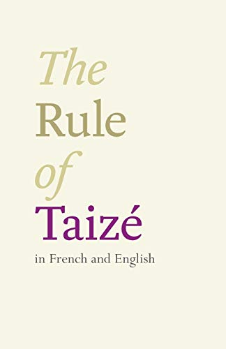 9780281068296: The Rule of Taize (English and French Edition)