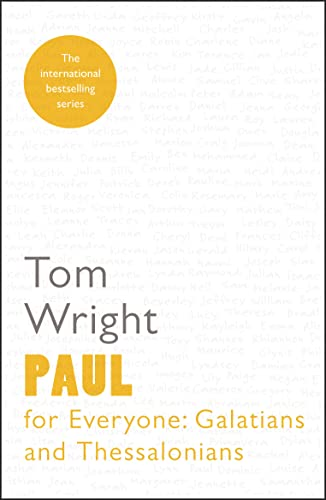 9780281071968: Paul for Everyone: Galatians and Thessalonians
