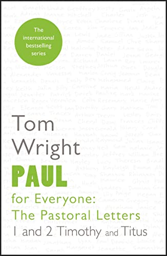 9780281071999: Paul for Everyone: The Pastoral Letters: Reissue