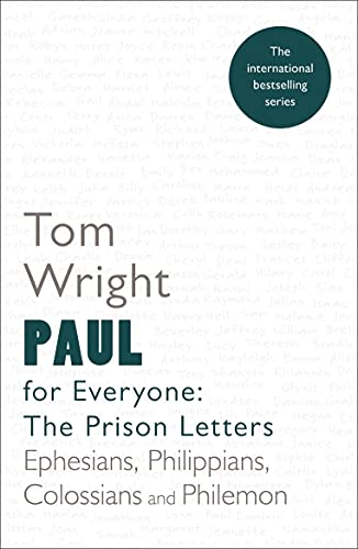 Paul for Everyone: The Prison Letters: Reissue: Wright, Tom