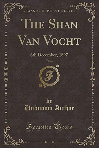 The Shan Van Vocht, Vol. 2: 6th: Unknown Author
