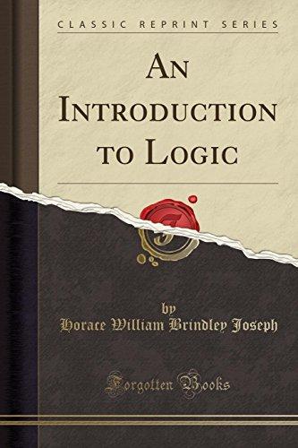 9780282247355: An Introduction to Logic (Classic Reprint)