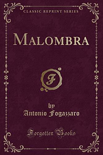 9780282813970: Malombra (Classic Reprint)