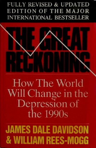 9780283061721: THE GREAT RECKONING: PROTECT YOUR SELF IN THE COMING DEPRESSION