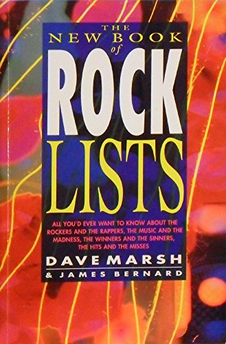 9780283061813: The New Book of Rock Lists