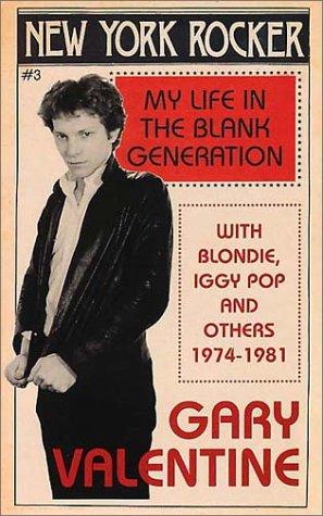 9780283063671: New York Rocker: My Life in the Blank Generation