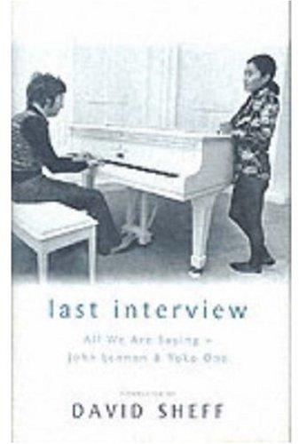 9780283073175: Last Interview: John Lennon and Yoko Ono