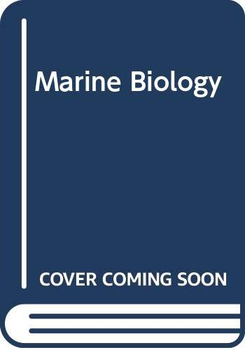 Marine biology: an introduction to its problems: Hermann Friedrich