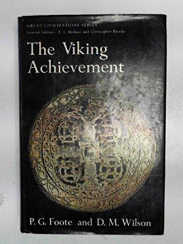 9780283354991: The Viking Achievement (Great civilizations series)